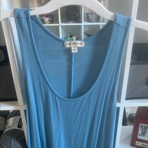 Blue Tank Top Zenana Outfitters -Small